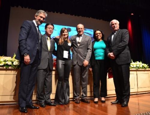 Cerimônia de Abertura do X JOU – Jornada Odontológica UNINOVE , realizada no dia 18 de Outubro de 2017, em São Paulo.