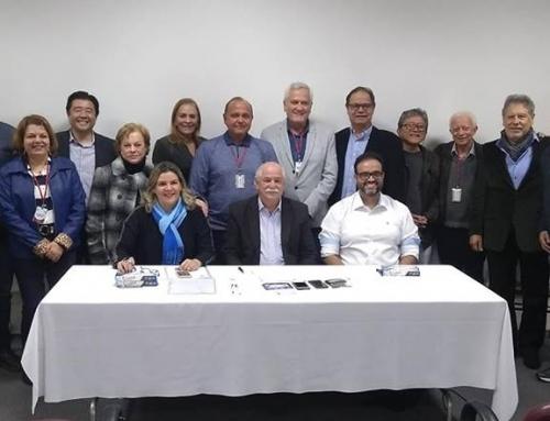 Reunião Diretoria ABCD e CNR –  Sediada na ABCD Seção São Paulo. Confraternização dos membros com a participação da GPNC nossa corretora oficial.