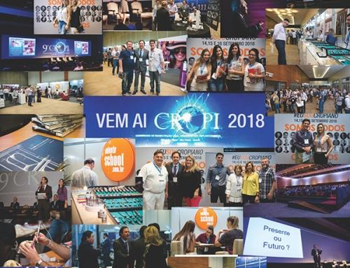 10º CROPI 2018 – Congresso de Reabilitação Oral, Periodontia e Implantodontia – Ribeirão Preto – São Paulo – Brasil