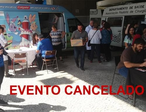 Evento de Saúde Bucal (20/3/2020) é cancelado. Estimule a prevenção