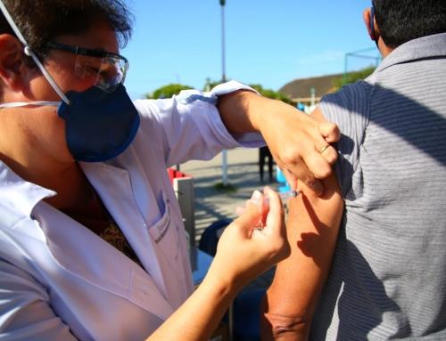 De 9 a 15/2  – Vacinação em drive thru  para CDs acima de 62 anos